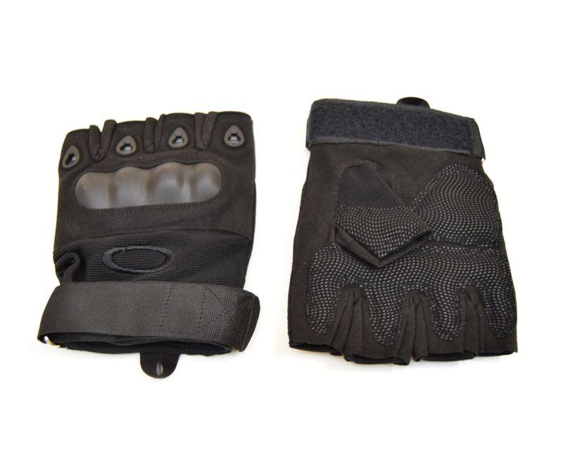 Перчатки Oakley с обрезанными пальцами (tac-023b), фото 1