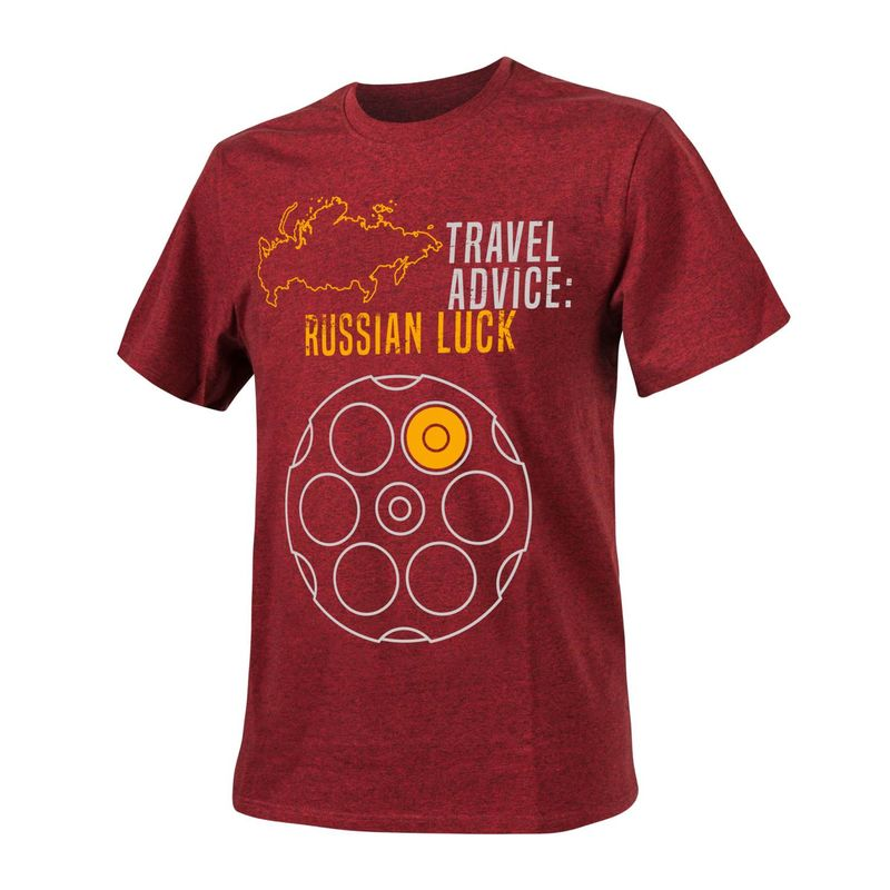Helikon-Tex ФутболкаT-Shirt (Travel Advice: Russian Luck) (TS-TRL-CO), фото 1