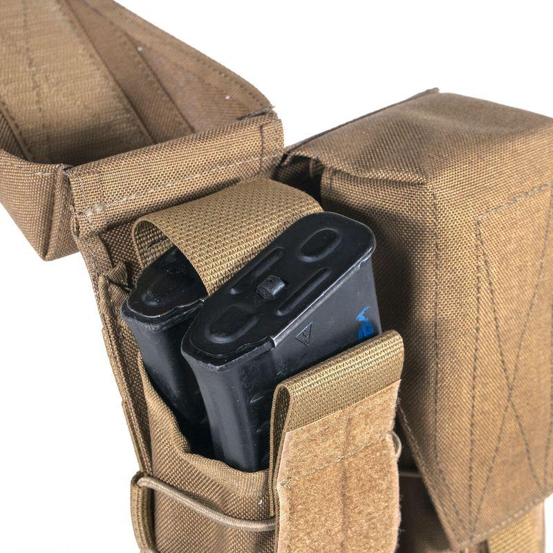 STICH PROFI Подсумок облегченный на 4 магазина АК 5,45 мм и 7,62 мм CAMO, фото 4