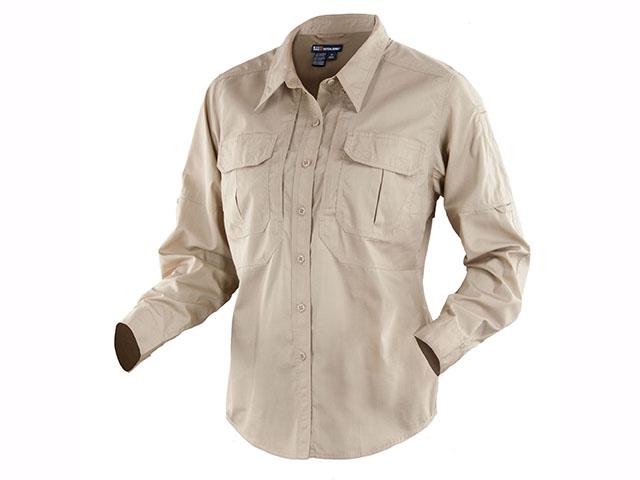 Рубашка TACLITE PRO (женская), длинный рукав, цвет TDU KHAKI (62070-162), фото 2