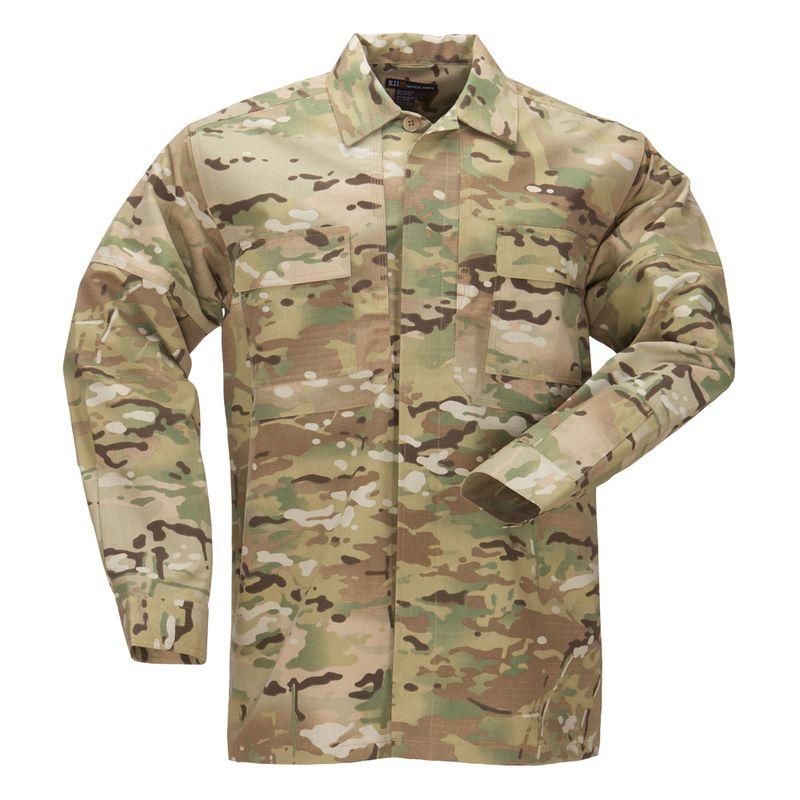 Рубашка RIPSTOP TDU, длинный рукав, цвет  MULTICAM (72013-169), фото 2