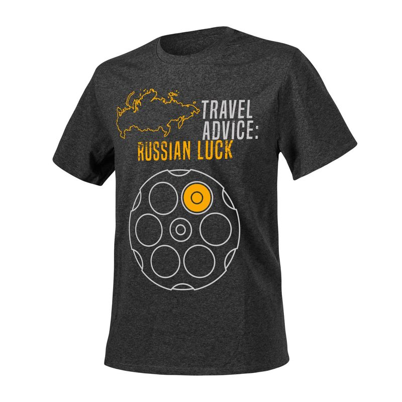 Helikon-Tex ФутболкаT-Shirt (Travel Advice: Russian Luck) (TS-TRL-CO), фото 2