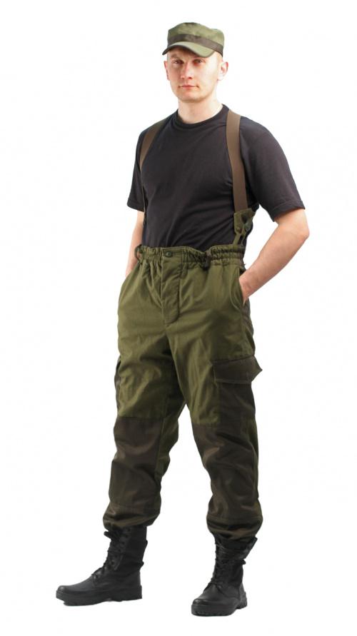 URSUS Костюм Горка 3 демисезонный Хаки (Утепл.Флис), фото 4