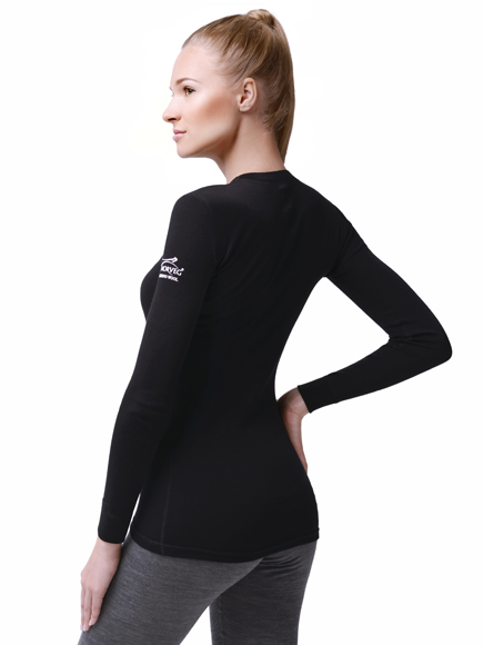 NORVEG Футболка женская Soft Shirt дл. рукав,, фото 3
