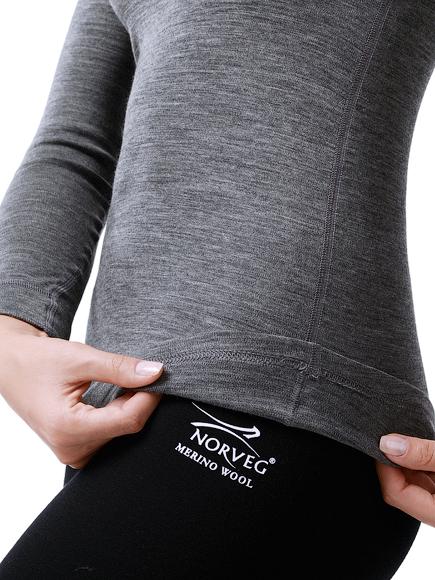 NORVEG Футболка женская Soft Shirt дл. рукав,, фото 7