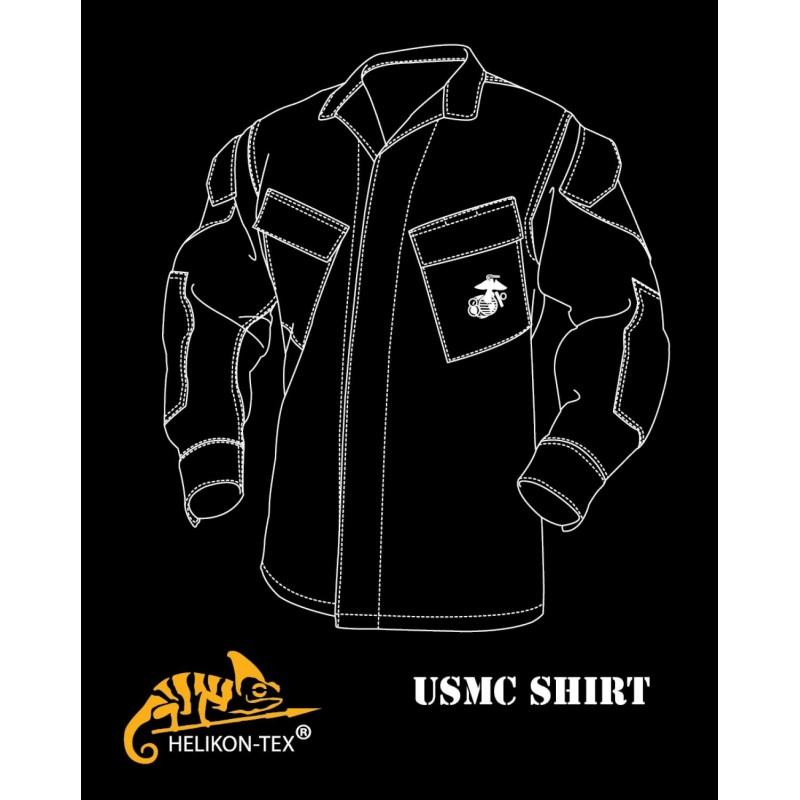 Helikon-Tex Куртка USMC Shirt (BL-USM-PT), фото 3