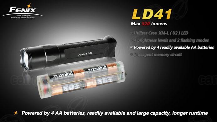 Fenix Фонарь LD41 Cree XM-L LED, фото 2