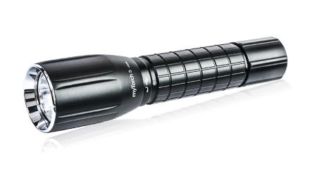 myTorch S 18650 аккумуляторный фонарь, светодиод. до 660 люм. 4 режима, USB-кабель,алюмин., фото 2