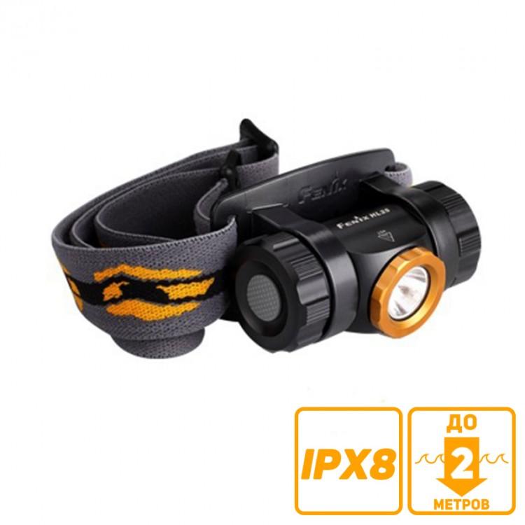 Fenix Налобный фонарь HL25 желтый, фото 2
