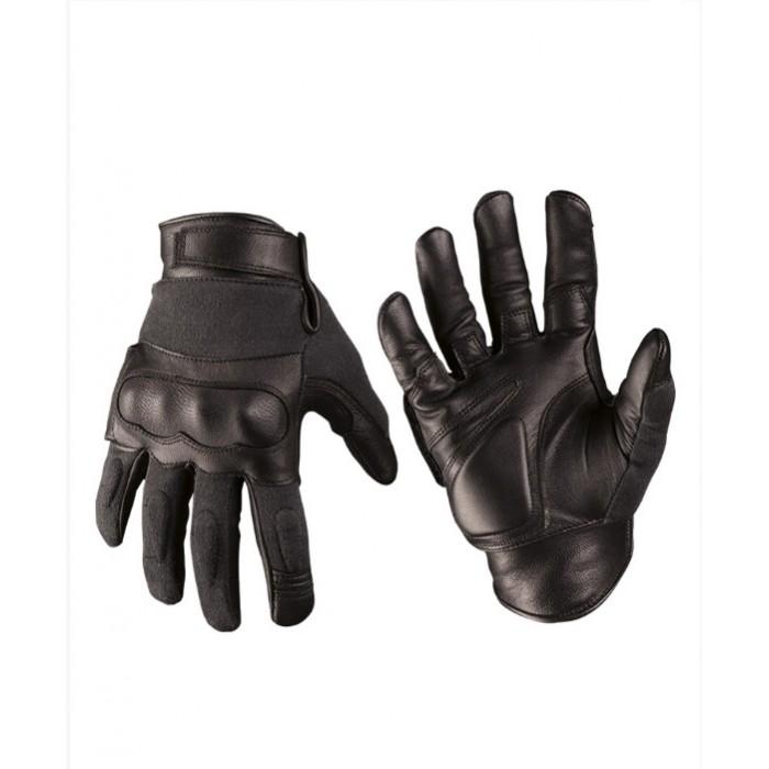 Перчатки MIL-TEC тактические кожаные ARAMIDE, фото 2