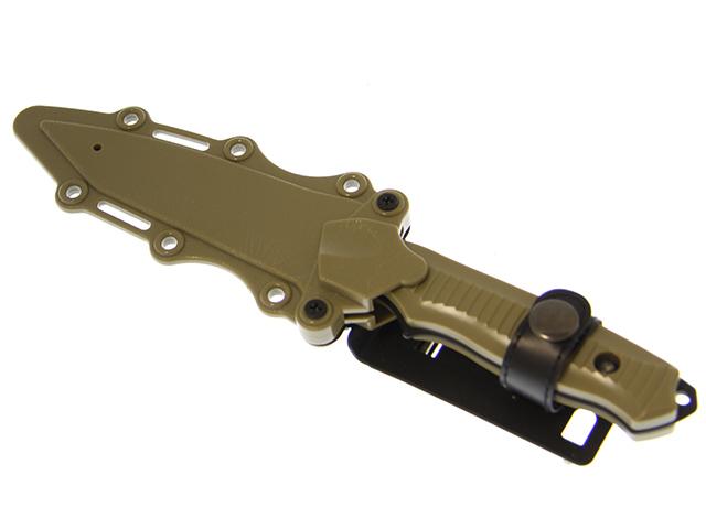 HY Модель ножа пластик резина, TAN (HY017T), фото 4