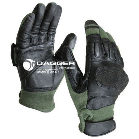 Перчатки Hard Knuckle Assault OD Black, код DAGGER DI-1208, фото 2