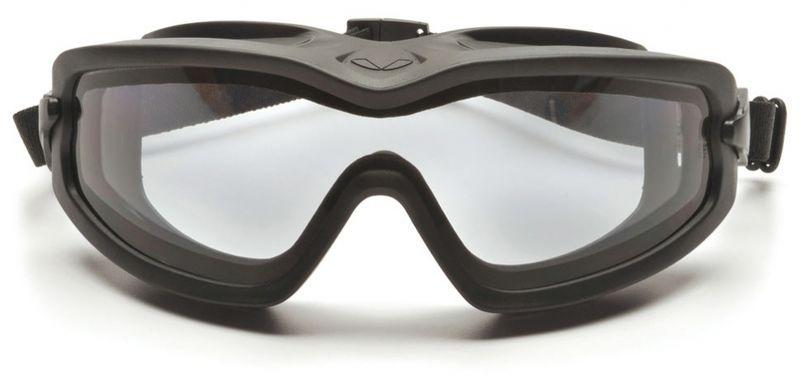Маска PYRAMEX бал. тактические V2G-Plus  Anti-fog Diopter прозрачные 96%  (GB6410SDT), фото 3