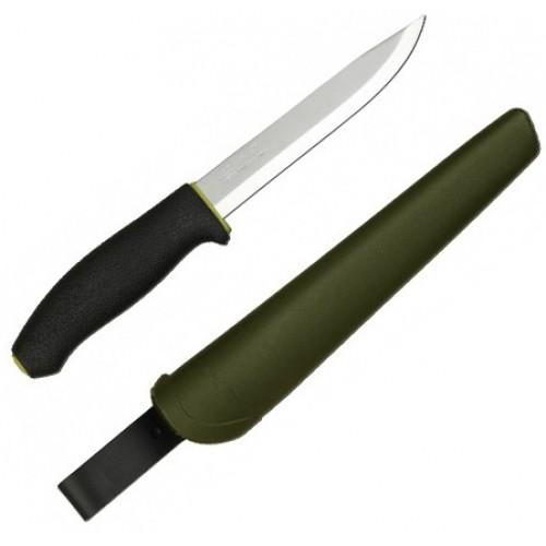 Нож Morakniv 748 MG, нержавеющая сталь, резиновая ручка, фото 2