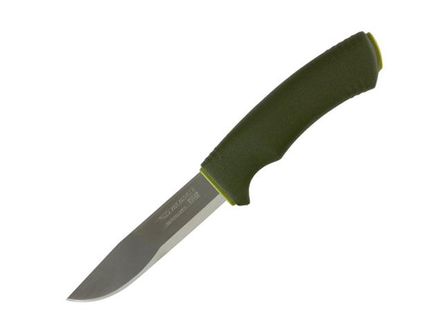 Нож Morakniv Bushcraft Forest, нержавеющая сталь, резиновая ручка, фото 2