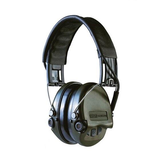 Наушники активные MSA Supreme Pro, SNR 25dB, NRR 18dB, хаки/черн.AUX 3,5мм (SOR75302), фото 2
