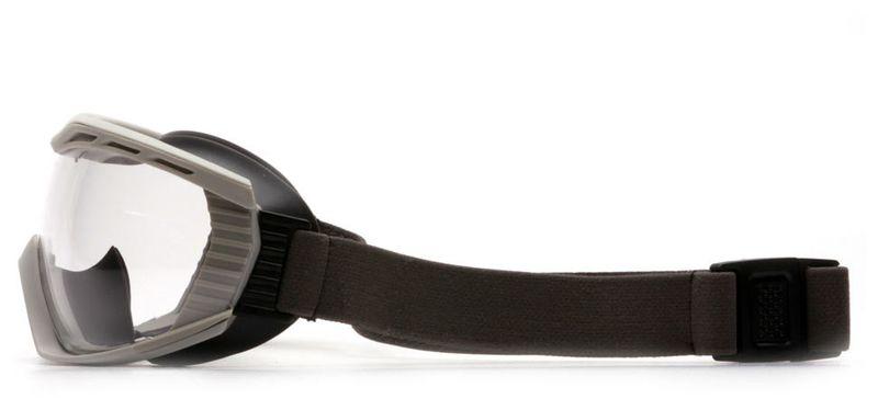 Маска PYRAMEX Capstone G604T2 (Anti-Fog, Diopter ready) прозрачные линзы, фото 5