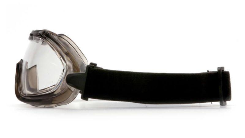 Маска PYRAMEX G704T (Anti-Fog) прозрачные линзы, фото 4