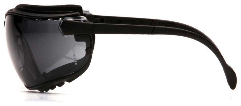 Очки PYRAMEX V2G GB1820ST (Anti-Fog, Diopter ready) темно-серые линзы, фото 5