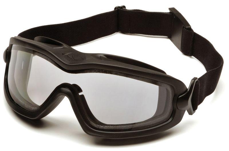 Очки PYRAMEX баллистические тактические V2G-Plus Anti-fog Diopter маска прозрачные 96% ( GB6410SDT), фото 2