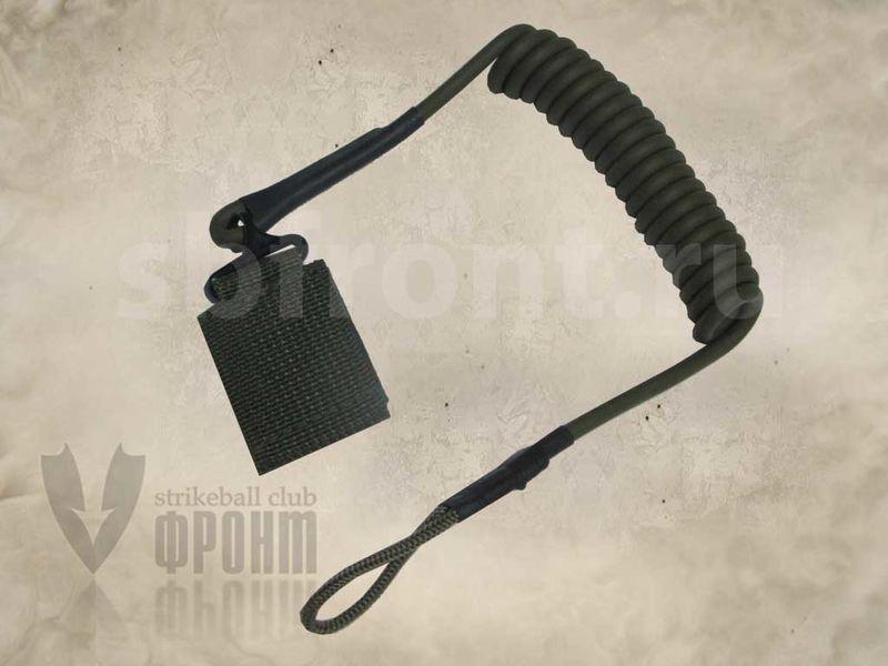 Ремень пистолетный страховочный, олива (6792-317-OD), фото 2