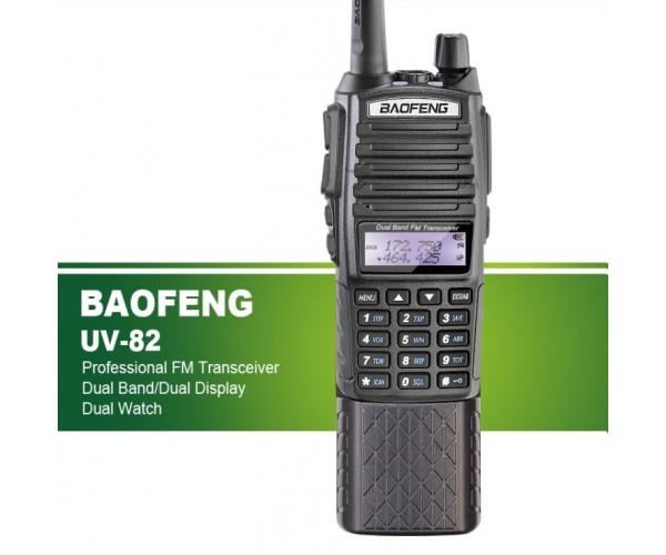Радиостанция Baofeng BF-82 (8W) с увеличенным АКБ + гарнитурой, фото 2