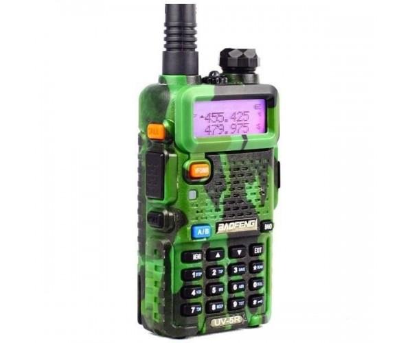 Радиостанция Baofeng UV-5R (8W) камуфляж+ гарнитура, фото 2