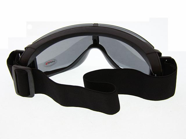 Очки тактические защитные, тип X800, 3 линзы GG0014, фото 4