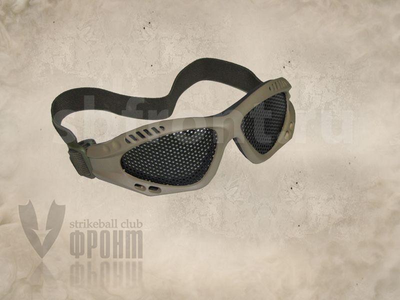 Очки защитные G James Goggle desert (сетка), фото 2