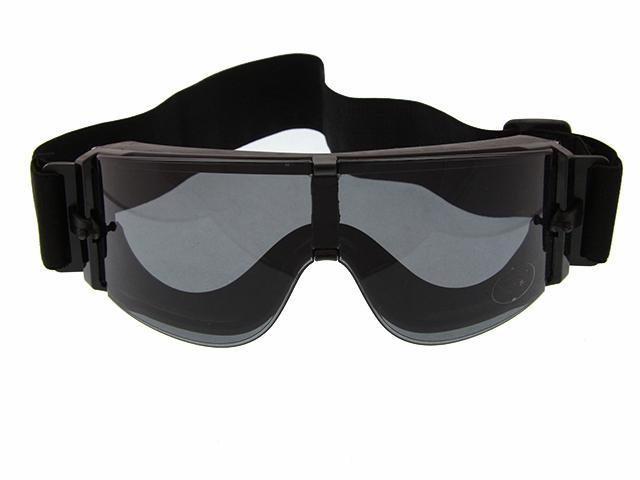 Очки тактические защитные, тип X800, 3 линзы GG0014, фото 2