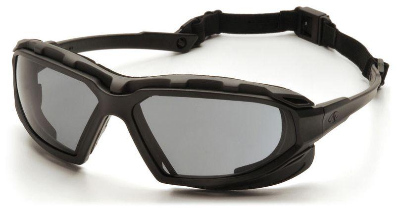 Очки PYRAMEX Highlander-Plus RVGSBG5020DT (Anti-Fog) темно-серые линзы, фото 2