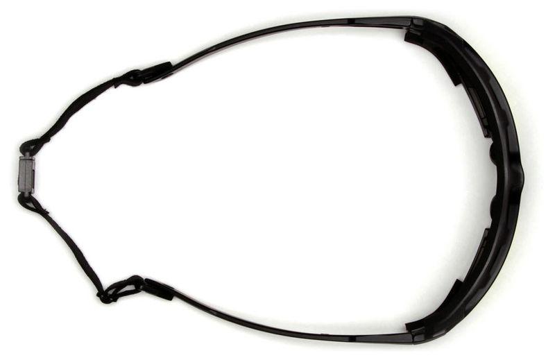 Очки PYRAMEX Highlander-Plus RVGSBG5020DT (Anti-Fog) темно-серые линзы, фото 4