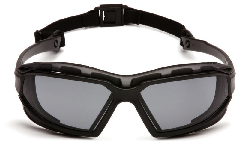 Очки PYRAMEX Highlander-Plus RVGSBG5020DT (Anti-Fog) темно-серые линзы, фото 5