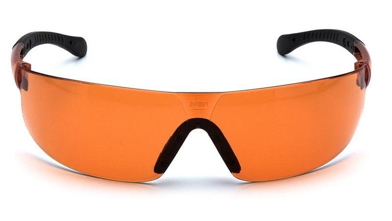Очки PYRAMEX Provoq с оранжевыми линзами (S7240S), фото 3