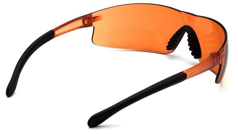 Очки PYRAMEX Provoq с оранжевыми линзами (S7240S), фото 4
