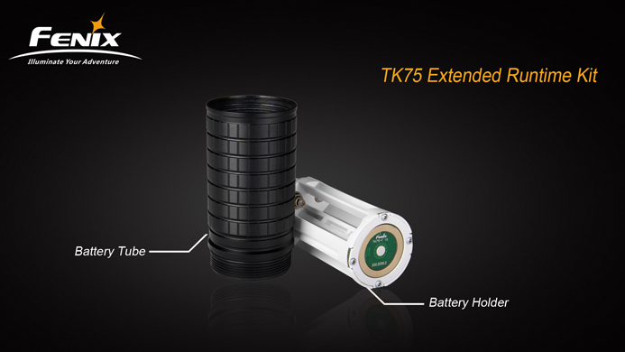 Удленитель для ТК75 4 Х 18650, фото 2