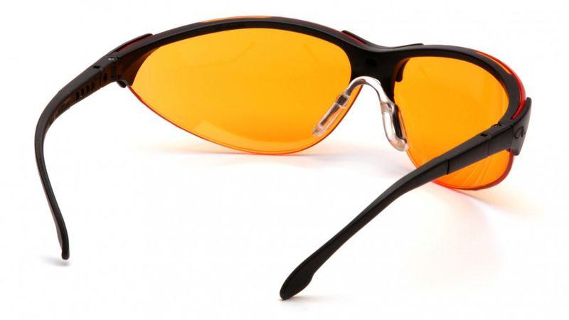 Очки PYRAMEX Rendezvous оранжевые (SB2840S), фото 3