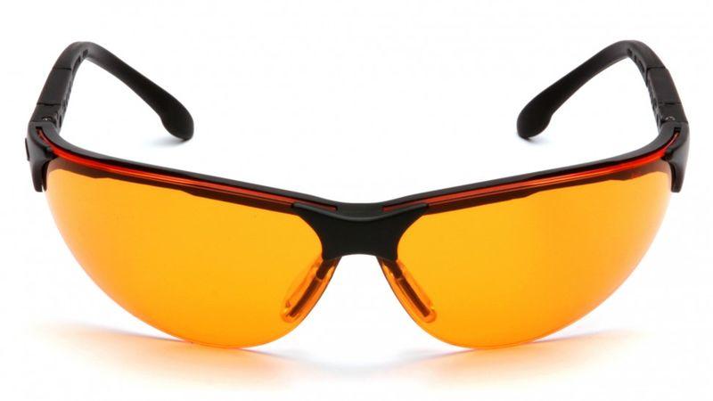 Очки PYRAMEX Rendezvous оранжевые (SB2840S), фото 4