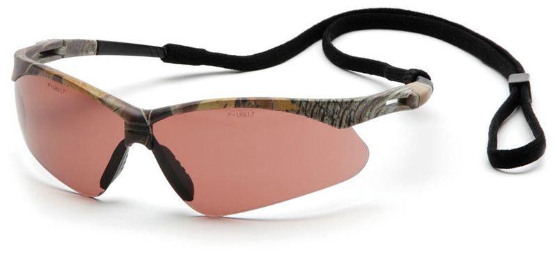 Очки PYRAMEX PMXTREME коричневые, (камуфляж Anti-Fog) (SCM6318STP), фото 2