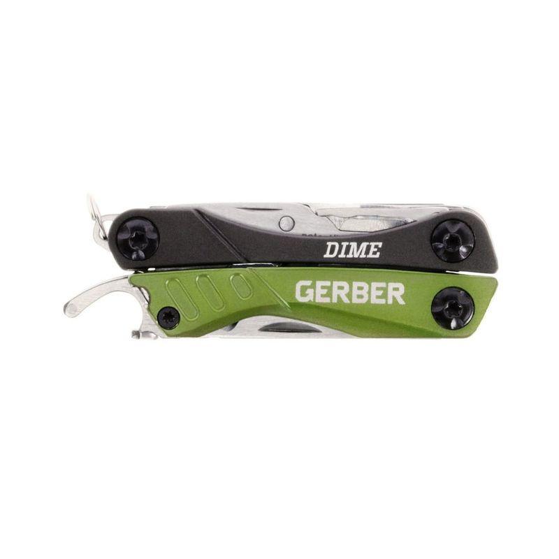 Мультитул Gerber Outdoor Dime Micro Tool, зеленый, блистер, 31-001132, фото 3