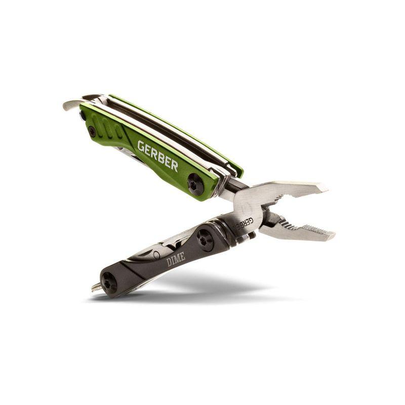 Мультитул Gerber Outdoor Dime Micro Tool, зеленый, блистер, 31-001132, фото 2