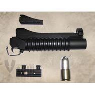 Модель подствольного гранатомета M203 Short model 3 варианта крепленияв комп. с гранатой, фото 1