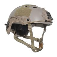 Шлем пластиковый FMA ABS FAST PJ Type Helmet(M/L) Dark Earth (AS-HM0016DE), фото 1